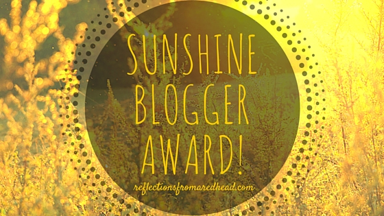 Image result for Sunshine Blogger Award!